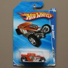 Hot Wheels 2010 HW Hot Rods Bone Shaker (orange)
