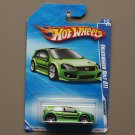 Hot Wheels 2010 Nightburnerz Volkswagen Golf GTI (green)