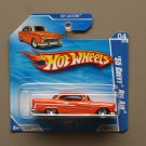 Hot Wheels 2010 Hot Auction '55 Chevy Bel Air (orange)