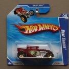 Hot Wheels 2010 HW Hot Rods Bone Shaker (red)