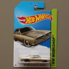 Hot Wheels 2014 HW Workshop '68 Plymouth Barracuda Formula S (champagne)