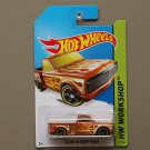 Hot Wheels 2014 HW Workshop Custom '69 Chevy Pickup (orange)