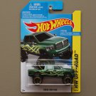 Hot Wheels 2014 HW Off-Road Dodge Ram 1500 (green)