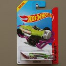 Hot Wheels 2014 HW Race Carbonator (green/purple) (bottle opener)