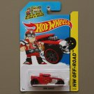 Hot Wheels 2014 HW Off-Road Bone Shaker (red)