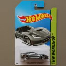 Hot Wheels 2014 HW Workshop 2014 Corvette Stingray (grey)