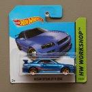 Hot Wheels 2014 HW Workshop Nissan Skyline GT-R (R34) (blue)