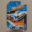 Hot Wheels 2011 HW Racing '57 Chevy (white)