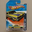 Hot Wheels 2011 Street Beasts '65 Pontiac GTO (yellow)