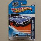 Hot Wheels 2011 Street Beasts '67 Pontiac Firebird 400 (blue)