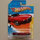 Hot Wheels 2011 New Models '63 Ford Mustang II Concept (red)