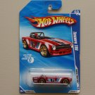 Hot Wheels 2010 Faster Than Ever Triumph TR6 (burgundy) (SEE CONDITION)