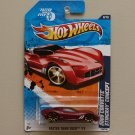 Hot Wheels 2011 Faster Than Ever 2009 Corvette Stingray Concept (red) (SEE CONDITION)