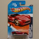 Hot Wheels 2011 Faster Than Ever 2009 Corvette Stingray Concept (red w/ FTE wheel variation)