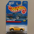 Hot Wheels 1999 Collector Series Ferrari 348 (yellow) (SEE CONDITION)