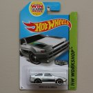 Hot Wheels 2014 HW Workshop Toyota AE-86 Corolla (ZAMAC silver - Walmart Excl.)