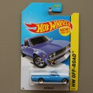 Hot Wheels 2014 HW Off-Road Datsun 620 (blue - Kmart Excl.)