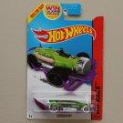Hot Wheels 2014 HW Race Carbonator (green/purple) (bottle opener)