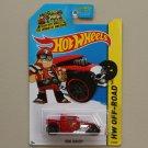 Hot Wheels 2014 HW Off-Road Bone Shaker (red)