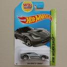 Hot Wheels 2014 HW Workshop 2014 Corvette Stingray (grey)