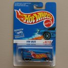 Hot Wheels 1996 First Editions Volkswagen Drag Bus (VW Bus) (blue)