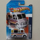 Hot Wheels 2011 HW City Works Sweet Streets (Ice Cream Truck) (white) (SEE CONDITION)