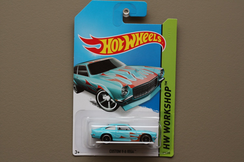 Hot Wheels 2014 HW Workshop Custom V-8 Vega (turquoise)