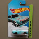 Hot Wheels 2014 HW Workshop Custom V-8 Vega (turquoise)