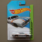 Hot Wheels 2014 HW Workshop '69 Ford Torino Talladega (silver)