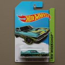 Hot Wheels 2014 HW Workshop '69 Mercury Cougar Eliminator (teal)