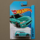Hot Wheels 2014 HW City 1990 Honda Civic EF (turquoise)