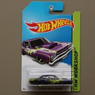 Hot Wheels 2014 HW Workshop '69 Dodge Coronet Super Bee (purple)