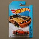 Hot Wheels 2014 HW City Ford Mustang GT (orange)