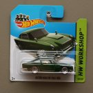 Hot Wheels 2014 HW Workshop Aston Martin 1963 DB5 (green)