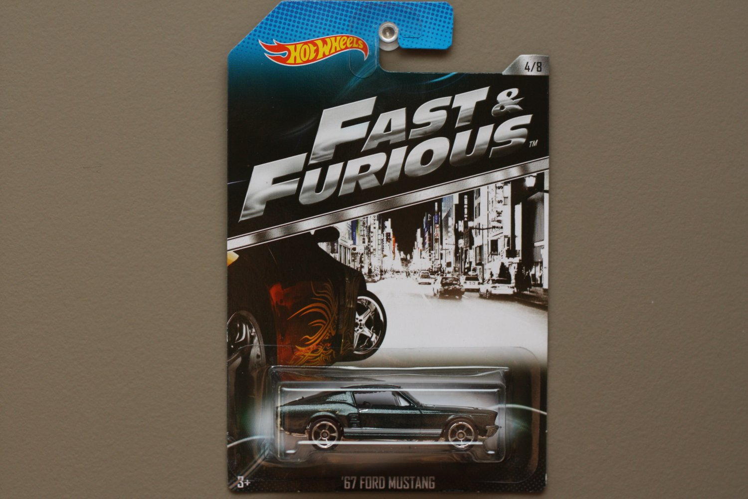 Hot Wheels 2014 Fast & Furious '67 Ford Mustang