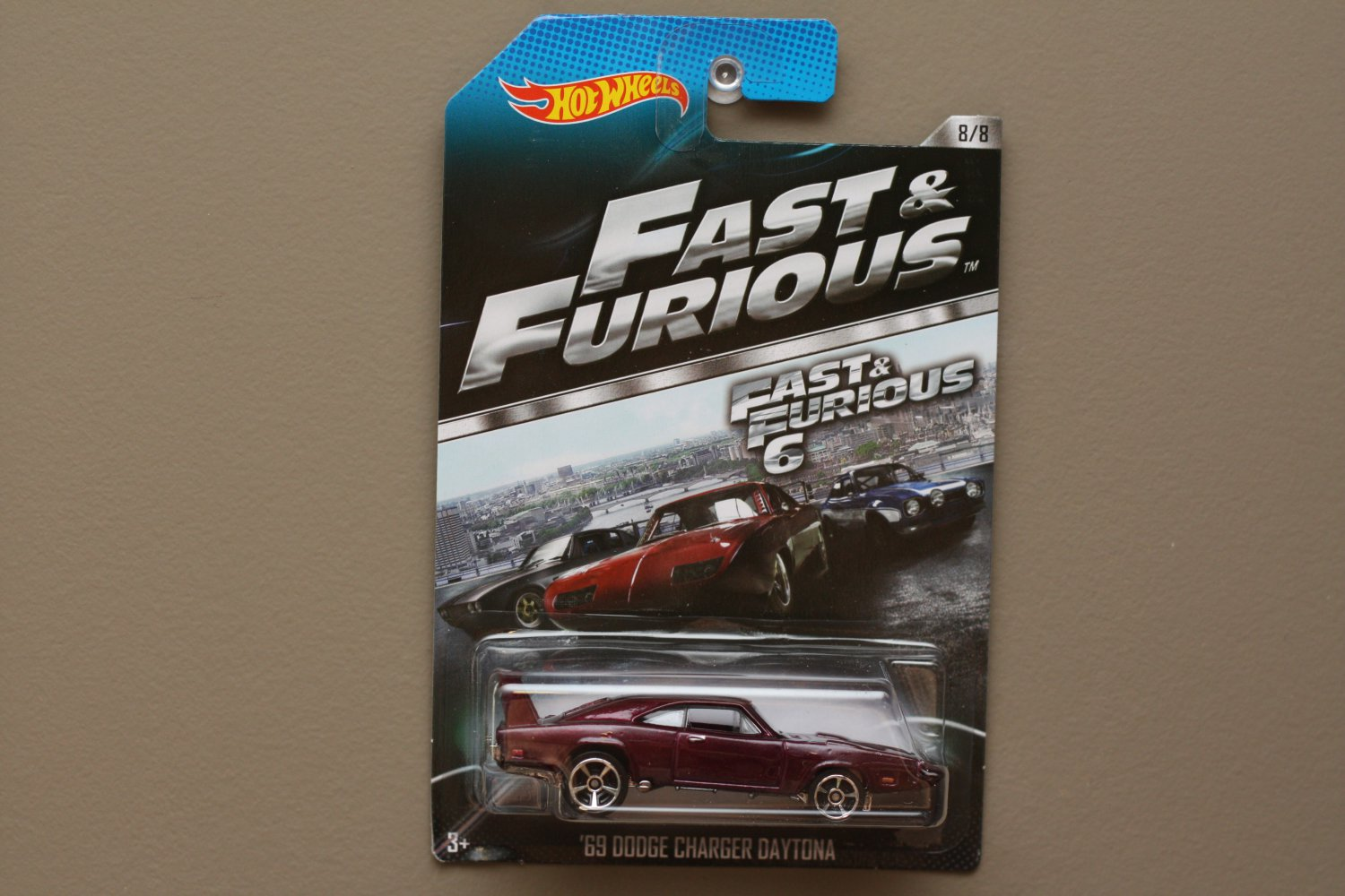 Hot Wheels 2014 Fast & Furious '69 Dodge Charger Daytona