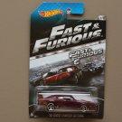 Hot Wheels 2014 Fast & Furious '69 Dodge Charger Daytona