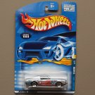 Hot Wheels 2001 Hippie Mobiles Series '68 Ford Mustang (silver)