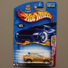 Hot Wheels 2003 Flamin' Hot Wheels Ford Escort Rally (gold)