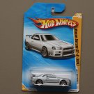 Hot Wheels 2010 New Models Nissan Skyline GT-R (R34) (silver)