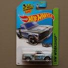Hot Wheels 2014 HW Workshop Custom '69 Chevy Pickup (ZAMAC silver - Walmart Excl.)