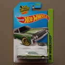 Hot Wheels 2014 HW Workshop '64 Lincoln Continental (ZAMAC silver - Walmart Excl.)