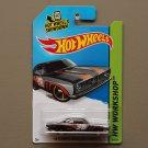 Hot Wheels 2014 HW Workshop '68 Plymouth Barracuda Formula S (black)