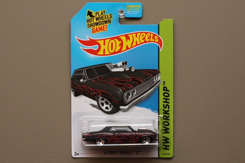 Hot Wheels 2014 HW Workshop '64 Chevy Chevelle SS (black)