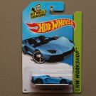 Hot Wheels 2014 HW Workshop Lamborghini Aventador J (blue)