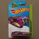 Hot Wheels 2014 HW Workshop Screamliner (magenta) (based off 1925 Rolls Royce Phantom)