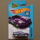 Hot Wheels 2014 HW City Hyundai Genesis Coupe (purple)