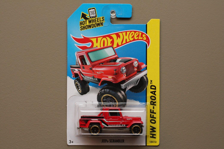 Hot Wheels 2014 HW Off-Road Jeep Scrambler (red)