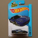 Hot Wheels 2014 HW City Ferrari 458 Italia (navy blue) (SEE CONDITION)