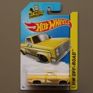 Hot Wheels 2014 HW Off-Road '83 Chevy Silverado (yellow)